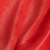 KF444 Bamboo Velour Poppy Red - Metre