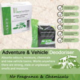 Bamboo Charcoal Vehicle Deodoriser 200gm