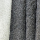 KF504 Bamboo Fleece Dark Heather Grey - 70cm Oddment