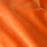 KF446 Bamboo Velour Vibrant Orange - 85cm Offcut