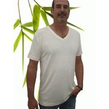 Mens Bamboo & Hemp V-Neck Tshirt
