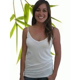 Womens Bamboo Sheer Tank