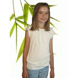 Girls Ruffle Bamboo & Hemp T Shirt