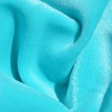 KF437 Bamboo Velour Aqua 1 Metre Seconds