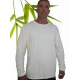 Mens Bamboo Long Sleeve T-Shirt Larger Size