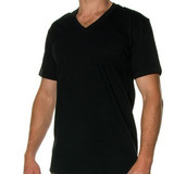 Mens Bamboo SS V Neck T Shirt