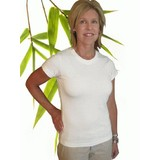 Womens Bamboo & Sorona Short Sleeve T-Shirt