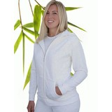 Womens Bamboo Fleece Zipper Hoody