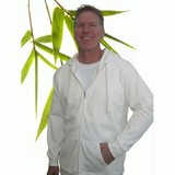Mens Bamboo Fleece Zipper Hoody