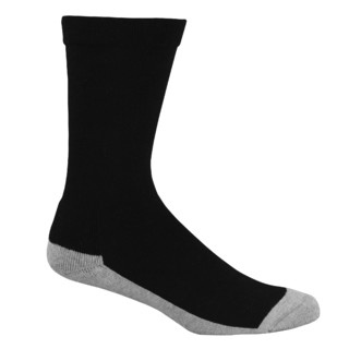 Bamboo Charcoal Health Socks: 4-6 Small Black