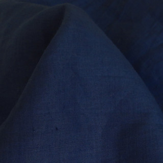 HF124 Hemp Linen Midnight Blue 170gsm - Metre