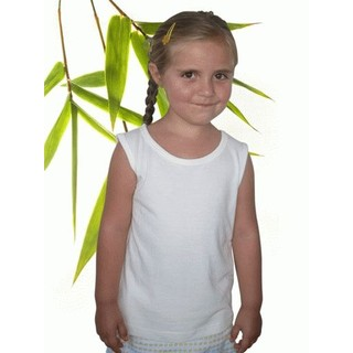 Toddler Bamboo & Organic Cotton Tank - 4/5 Years Natural