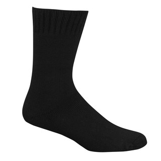 Bamboo Extra Thick Work Socks 6-10 Medium Black