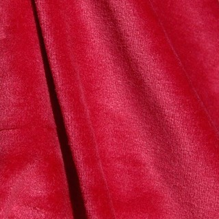 KF238 Sample Bamboo Velour Red Tango